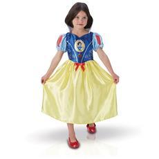 Costume Classico Da Biancaneve Per Bambina 3 A 4 Anni