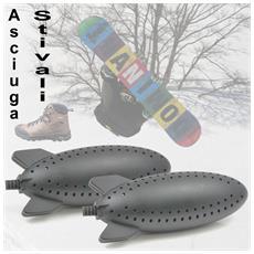 Essiccatore Deumidificatore Per Scarpe Scarponi Dopo Scii Deodorante Antibatteri