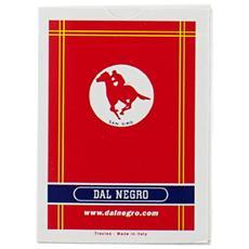 Carte Poker S. Siro A1 Rosso 20004