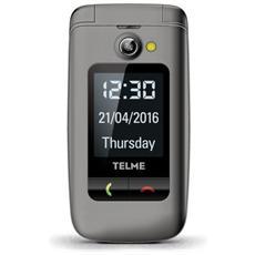 "Emporia X200 Senior Phone Dual Sim Display 2.4"" SD Bluetooth con Tasti Grandi + SOS Fotocamera Colore Grigio"