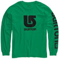 T-shirt Bambino Logo Vertical Fill M Verde