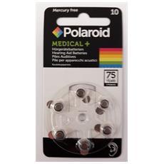 1x6 Polaroid Zinc Air 10 Pile per apparecchi acustici