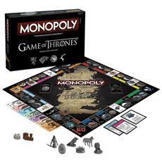 Gioco Da Tavolo Monopoly Game Of Thrones Versione Inglese