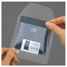 Cf100porta Floppy Adesivo Con Flap