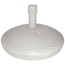 Base Ombrellone Bianco 30 cm