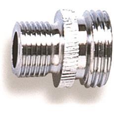 Niples Mm1/2''x15/1 X Flessibile Doccia, Niples Per Flessibile Doccia Attacco Mm1/2''x15/1 In Ottone Cromato