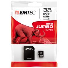 32GB microSD, 32 GB, Micro Secure Digital (MicroSD) , 15 MB / s, Nero, 1,1 cm, 1,5 cm
