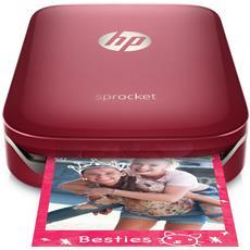 Sprocket Stampante Fotografica Istantanea Portatile per foto formato 5,1x7,6cm Rosso
