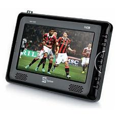 "TS09 TV LCD portatile 9"" Digitale Terrestre porta USB"