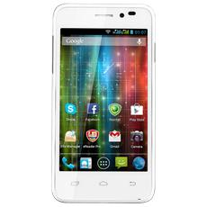 "MultiPhone Duo Bianco 4 GB Dual Sim Display 4"" Fotocamera 8 Mpx Android Italia"