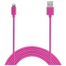 Apple Lightning cable 1,2m MFI - Pink