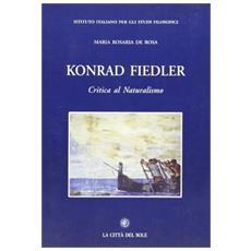 Konrad Fiedler. Critica al naturalismo