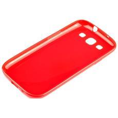Cover ultrasottile In Gomma Per Samsung Galaxy S5 I9600 Rosso