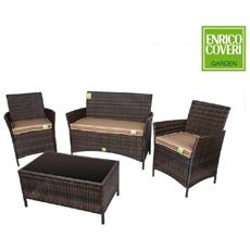 Set Sofa' Egitto Coveri Ferro / marron