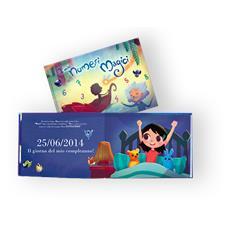 I Miei Numeri Magici - Libro Personalizzato Per Bambine - Protagonista Bambina Mora - Contattaci Per Personalizzare