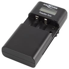 Ansmann 1001-0020 Auto / Indoor battery charger Nero carica batterie