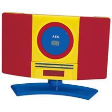 MC 4463 Kids Line, Digitale, PLL, Lettore, CD, CD-R, CD-RW, Ripeti, Ripeti tutto, LCD