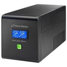 Gruppo di continuità UPS Line-InterActive VI1000PSW 1000VA 700W (Onda Sinusoidale Pura) con 4 prese IEC