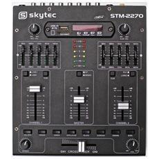 Mixer Dj professionale 4 canali con Bluetooth piu' display e USB SD + effetti sonori preimpostati