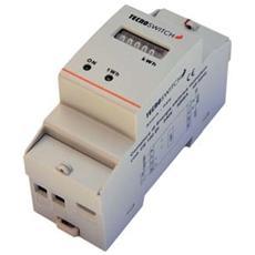 Contatore Di Energia Monofase 2 M. Din - Ce102di