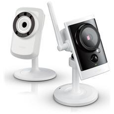 D-LINK - Kit Composto da Videocamera Wi-Fi indoor DCS-932L...