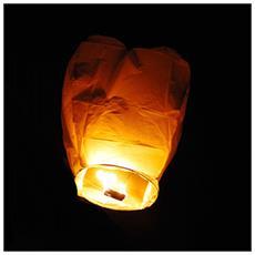 Mongolfiera Cinese Lanterna Volante Lanterne Feste Matrimonio Sky 18 Annni