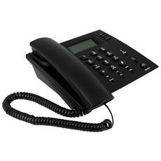 Telefono Fisso Da Scrivania Connessione Usb Nero Tasti Grandi Speciale Skype