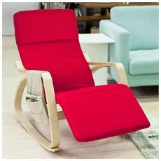 Sedia A Dondolo, sedie Relax, Con Organizer Da Appendere, fst16-r