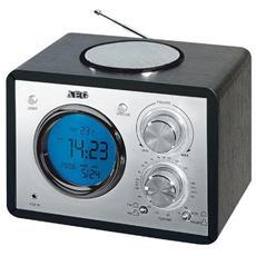 Orologio Radiosveglia Colore Nero - MR 4104