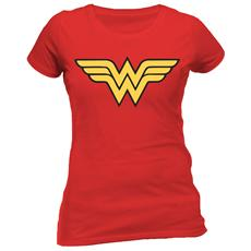 Wonder Woman - Logo (T-Shirt Donna Tg. XL)