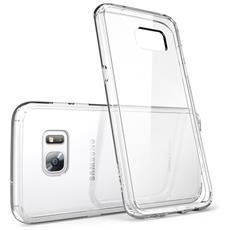Custodia Samsung Galaxy S7 Edge (2016) Cover [ halo Series] Trasparente [ antigraffio] L'unione Perfetta Tra Tpu Flessibile Anti Ingiallente E Tpe Che Assorbe E Disperde L'impatto (100% Trasparente)