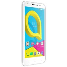 "Smart HD Bianco 8 GB 4G / LTE Display 5"" HD Slot Micro SD Fotocamera 8 Mpx Android Tim Italia"