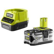 Battery Pack Ryobi 18v 4.0ah Oneplus Lithiumplus E Caricabatterie Rapido Rc18120-140 2.0ah Agli Ioni Di Litio