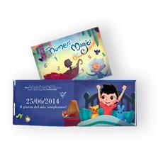 I Miei Numeri Magici - Libro Personalizzato Per Bambini - Protagonista Bambino Moro - Contattaci Per Personalizzare