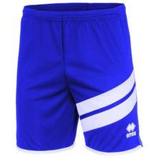 Errea Jaro Short Pantaloncino Adulto Azzurro / bianco Taglia L