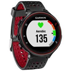 Forerunner 235 WHR da Polso Impermeabile 5 ATM con Funzione Contapassi Cardio e Sonno Colore Rosso