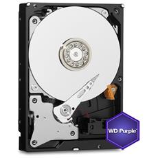 "Hard Disk WD Purple 2 TB 3.5"" Sata III 6 Gb / s Buffer 64 MB 5400 Rpm"
