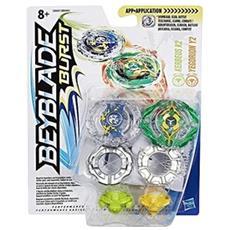 Beyblade Burst Dual Pack Verde / Giallo