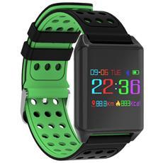 Smart Band R11 Activity Tracker Fitness Cardiofrequenzimetro Pressione Sanguigna Green
