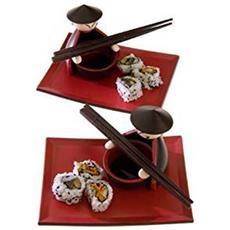 Set Per Sushi Chopstick 6 Pezzi