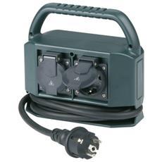 Power Distribution 4 safety sockets 2m