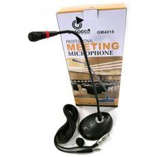 Microfono Professionale da Tavolo Gm4018 Conferenza Flessibile Gooseneck
