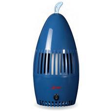 Zariera ad Aspirazione 35 Watt Con Lampada Attinica Colore Blu