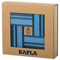 Set Costruzioni In Legno Blu 40 Pz Kapl172107