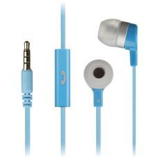 """Mini, Stereofonico, 3.5 mm (1/8"""") , Interno orecchio, Blu, Cablato, Intraurale"""