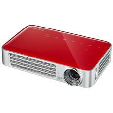 Pico Proiettore 800 ANSI Lumen Qumi Q6 con lampada LED colore Rosso