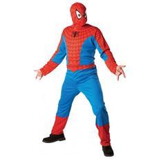 costume spiderman t. unica adulto