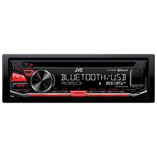 Sintolettore CD KD-R784BT Bluetooth Potenza 4 x 50W Supporto MP3 / WMA / WAV / FLAC / USB / AUX Nero