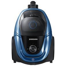 Aspirapolvere a Traino Senza Sacco Potenza 650 W Capacità 2L Colore Blu