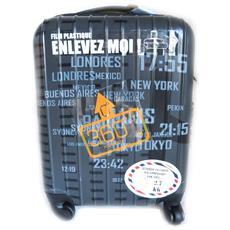 abs trolley valigia '' grigio (50 cm) - [ l9907]